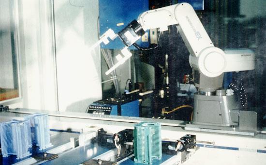 ウエハー搬送ロボットシステム